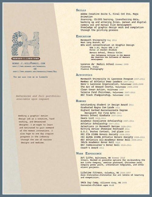 dzineblog 27-more-outstanding-resume-designs-part-ii - outstanding resume templates