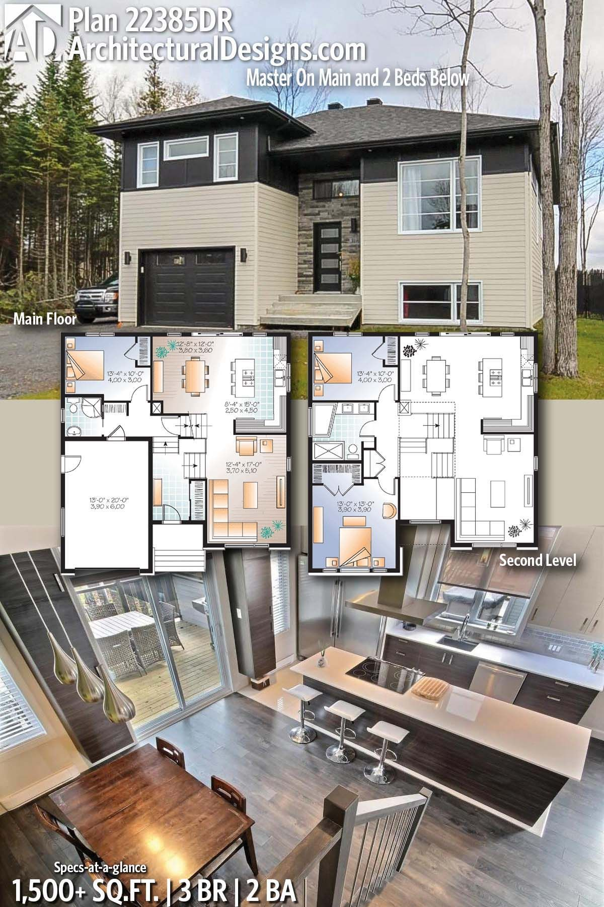Architectural designs home plan dr with bedrooms and baths in sq ft ready when you are where do want to build also rh pinterest