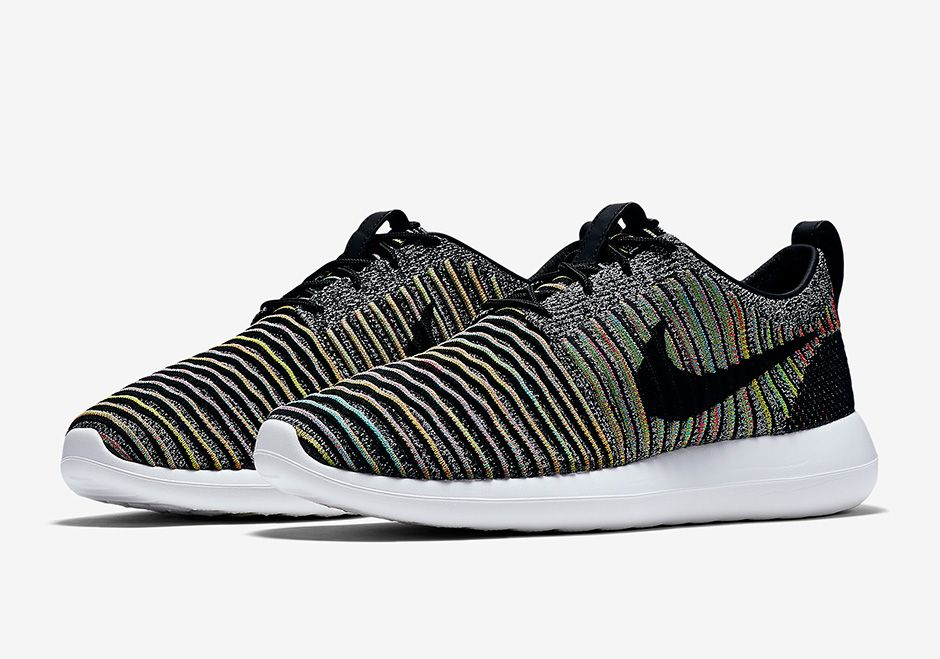 080832b5273e ... hot the nike roshe two flyknit is available in asian markets in a new  multi coloru2026