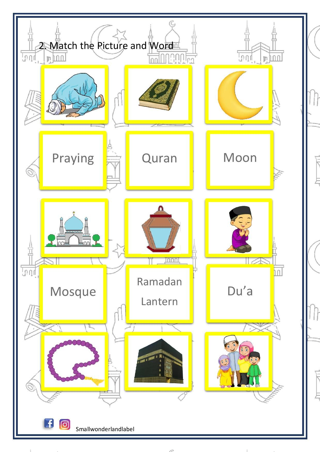 Pin On Ramadan Activity For Kids