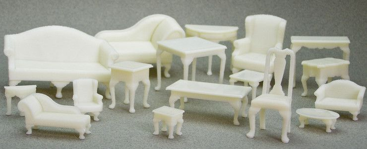 3d printed historical doll house furniture diy 3d - Buy 3d printed house ...