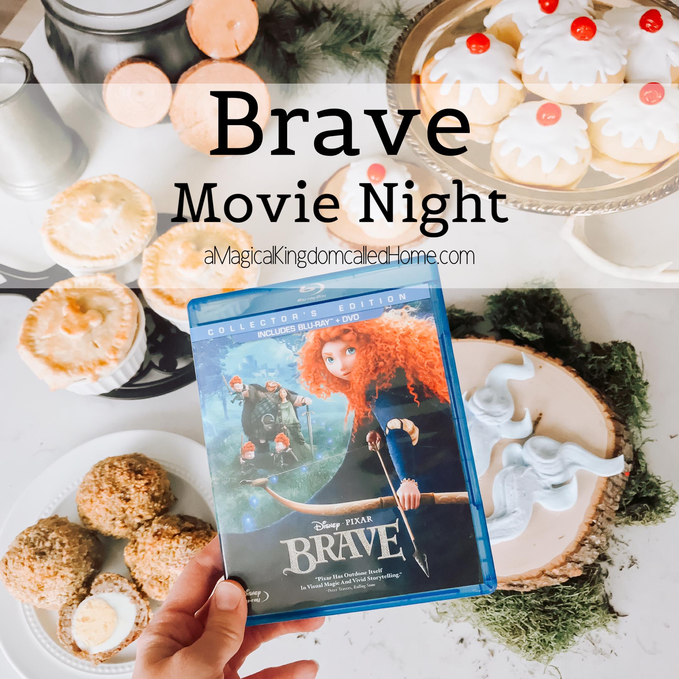Brave Movie Night Disney Themed Food Brave Movie Disney Movie Night