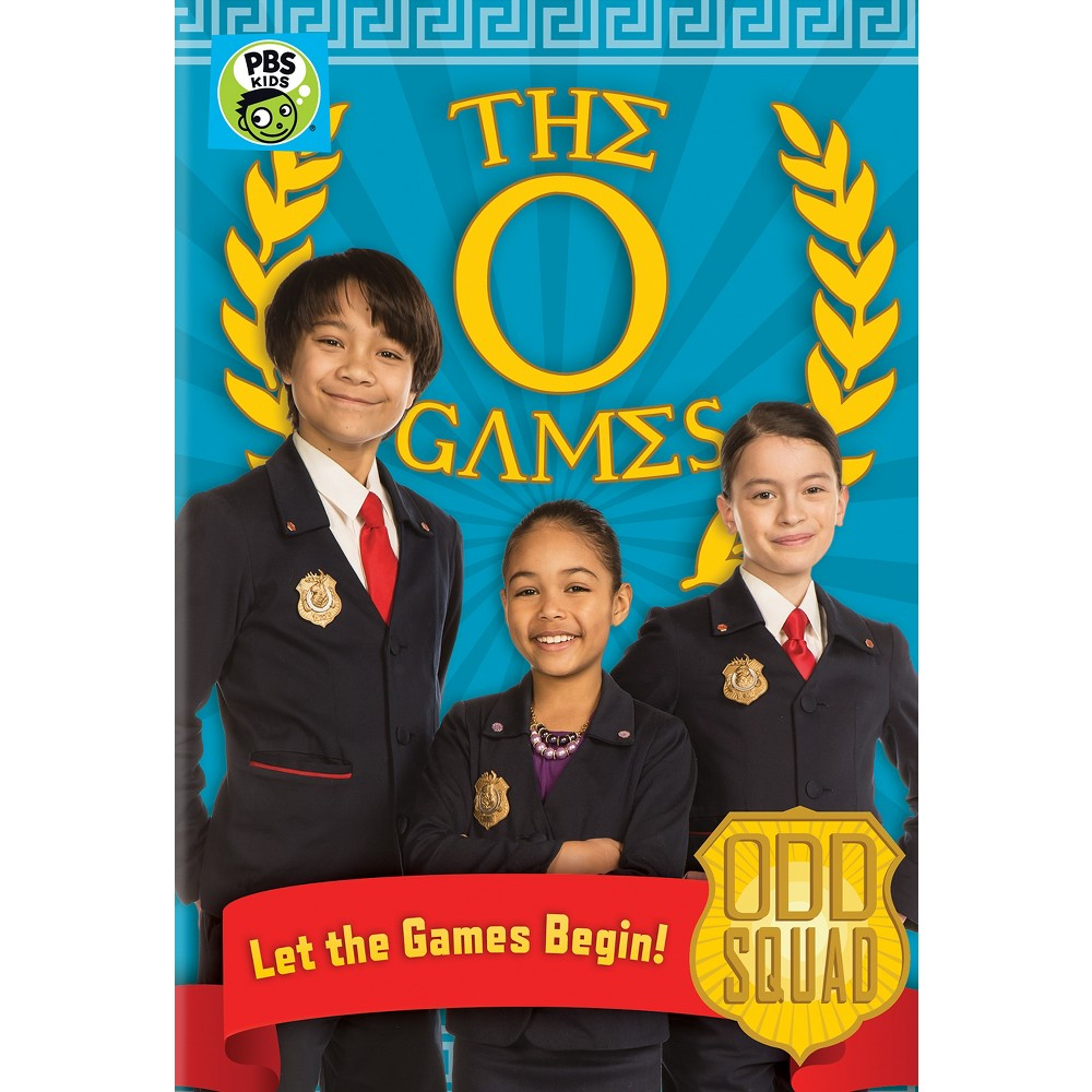 Odd Squad O Games (Dvd), Movies Squad, Kids party games