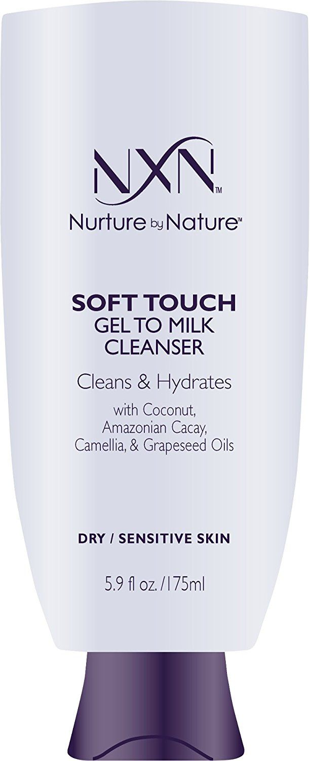 Nxn Soft Touch Gel To Milk Cleanser For Face Natural Organic Anti Aging Facial Cleanser For Sensitive Dry Ski Dry Sensitive Skin Milk Cleanser Face Cleanser