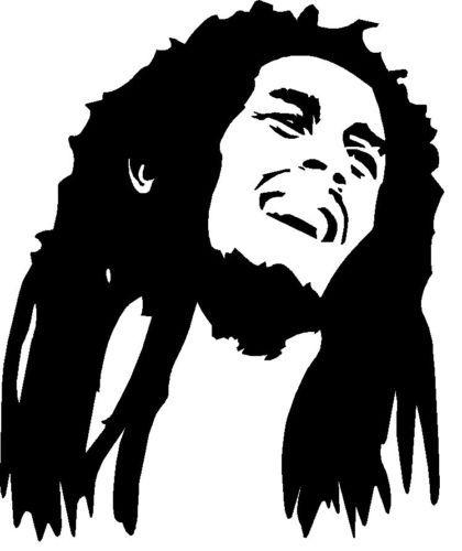 Bob Marley STENCIL Reggae Singer Wall Art Decor Famous People Large Template