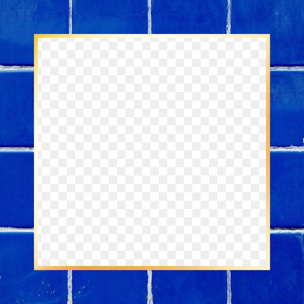 Blue Tile Pattern Png Frame Design Space Free Image By Rawpixel Com Paeng Blue Tile Patterns Frame Design Colorful Backgrounds