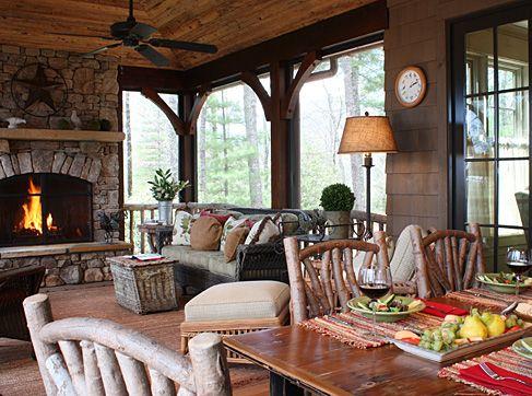 Ambiance Interiors U0026 Platt Architecture Share This Beautiful Mountain Home  In Asheville, ...