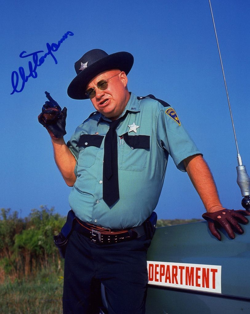 Clifton James From The James Bond Film Live Let Die Signed In