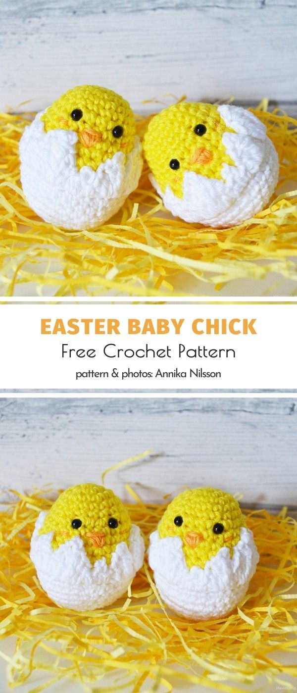 Photo of Easter Baby ChickFree Crochet Pattern