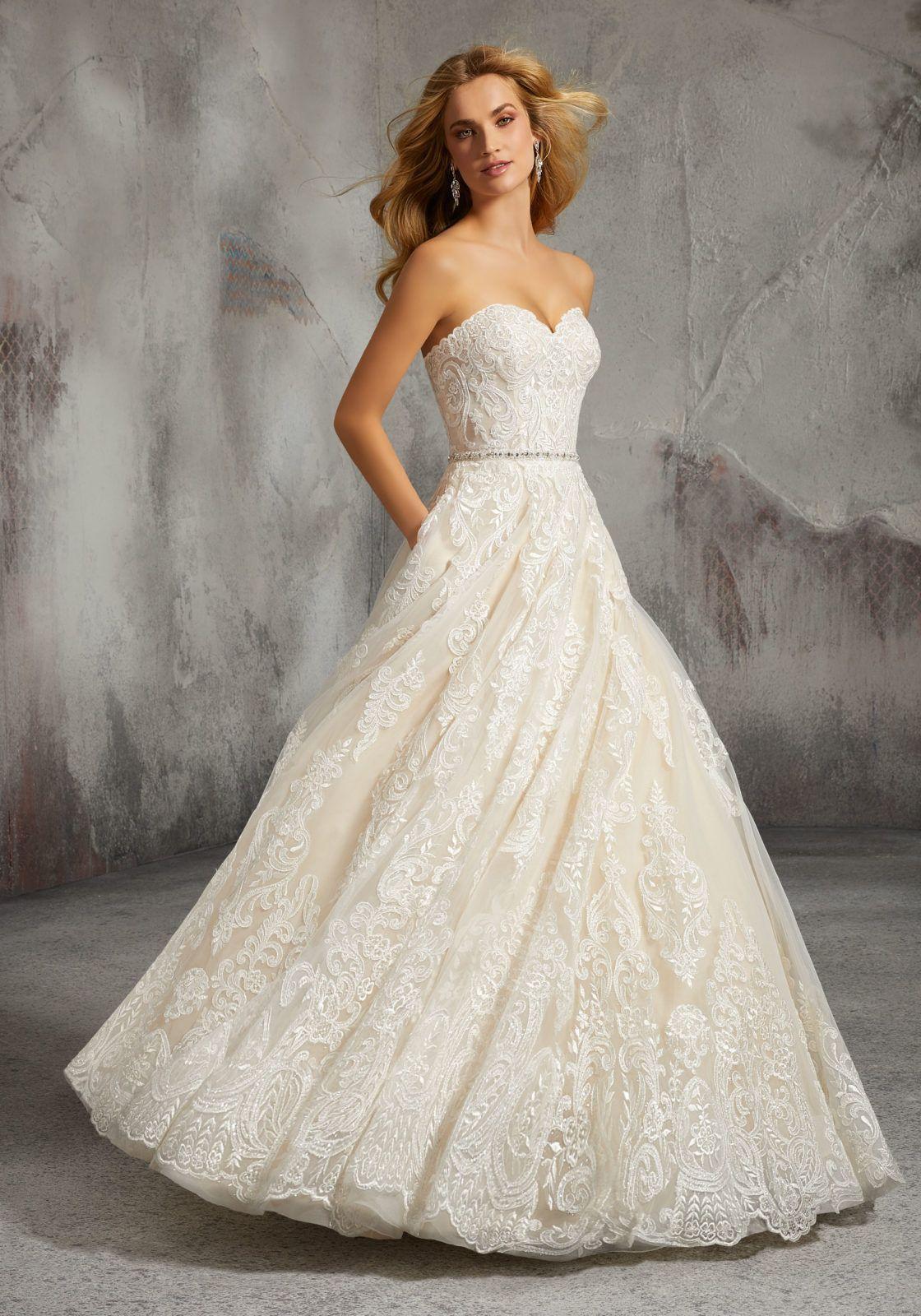 Lisa Wedding Dress Morilee In 2020 Mori Lee Wedding Dress