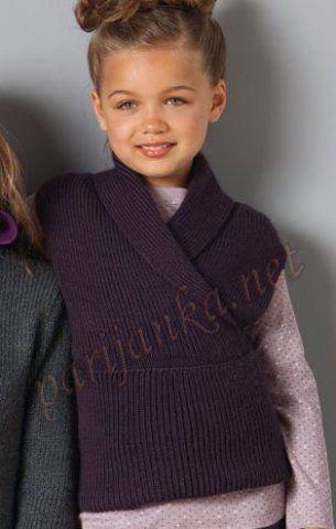 Пуловер шарф 19*23 PHIL