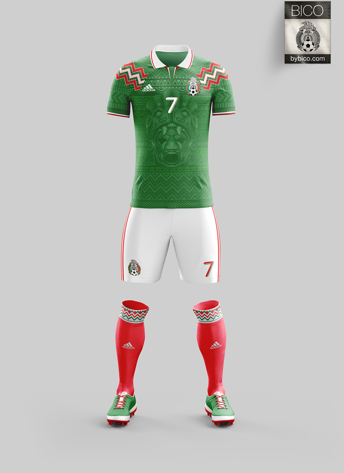 Image result for mexican national football team kit