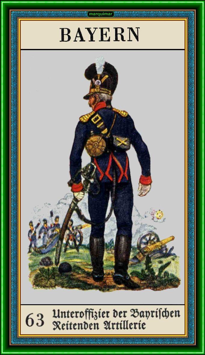 Bavarian Artillerian Unificacion De Alemania Unification Of