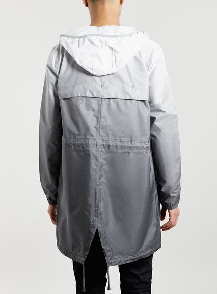 K way grey ombre parka jacket style pile pinterest for K way interno pile