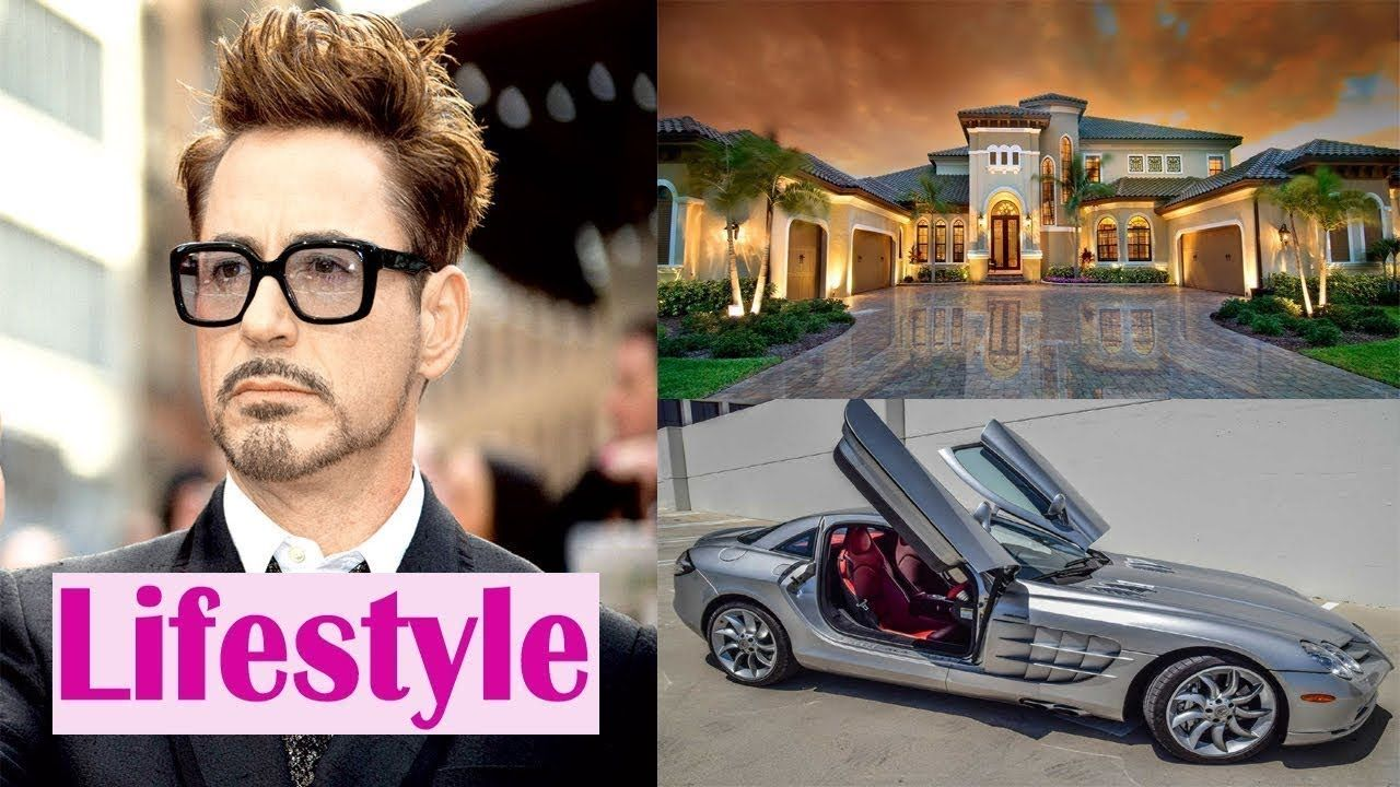 Robert Downey Jr Lifestyle House Jet Cars Collection