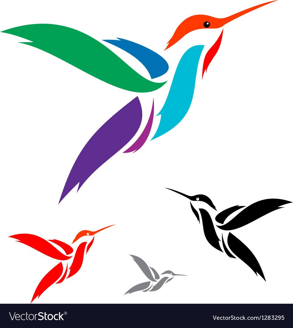 Hummingbird Royalty Free Vector Image VectorStock ,