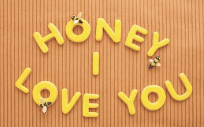 Honey, I Love You Cookies #SweetDesigns
