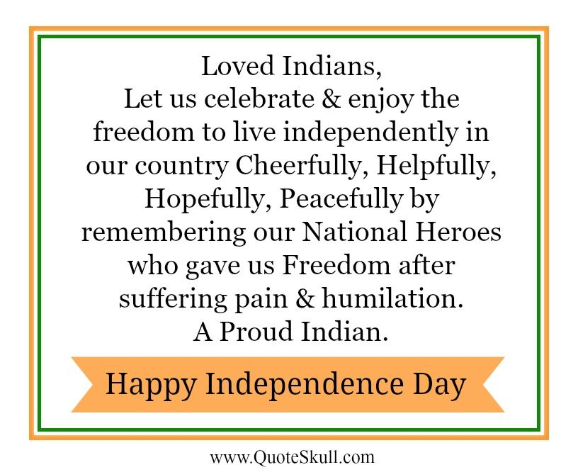 Independence Day Thoughts And Quotes Independence Day Quotes And