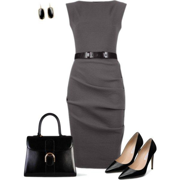 Work clothes: La Petite S Sleeveless dress, Delvaux Brillant Mm Box Bag, Diane Von Furstenberg Bethany 100MM Pump