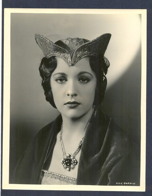 Irene Ware-star of the RAVEN (1935)  I NEED this hat