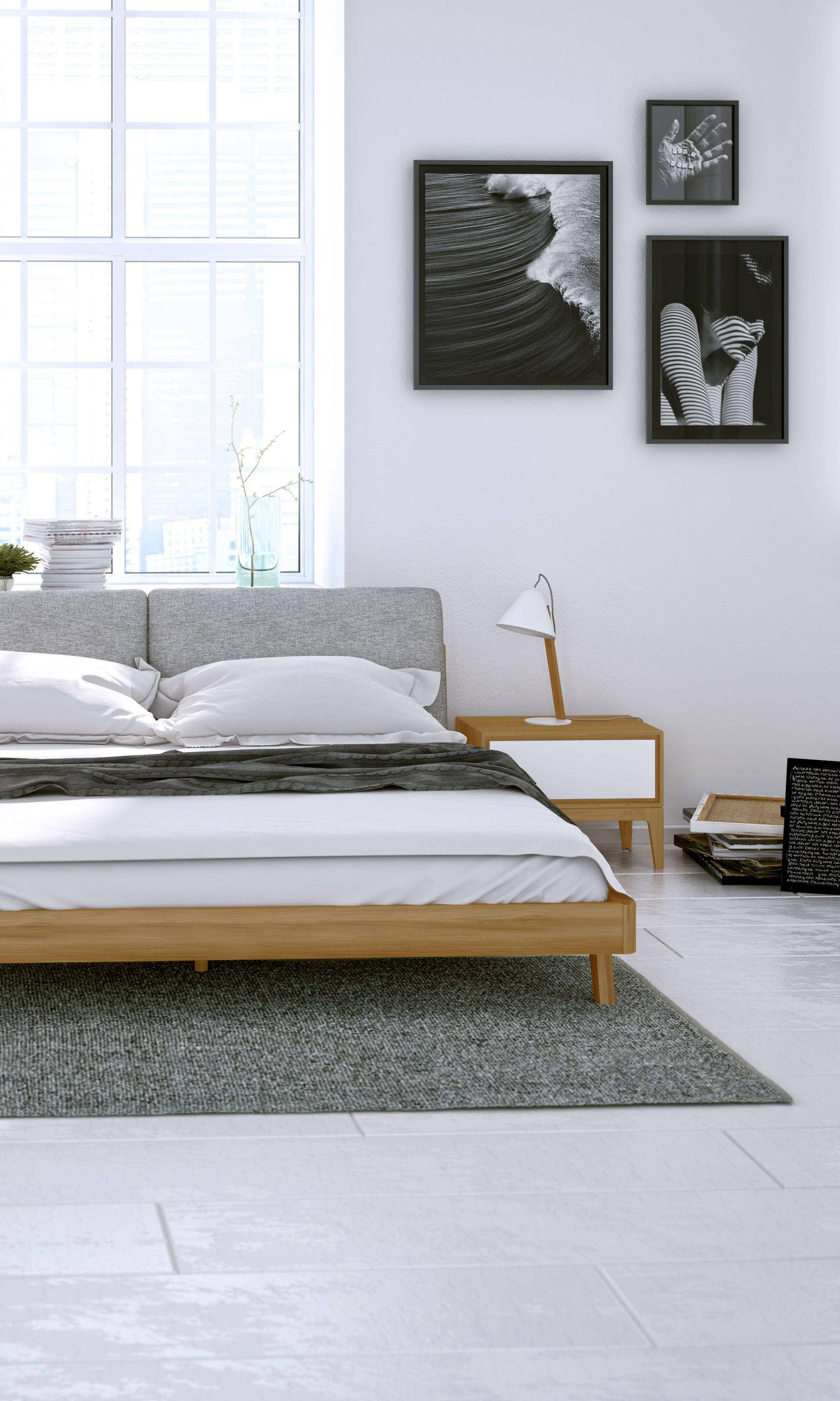 Mikkel Bed | Rove Concepts Kure Mid-Century Furniture ...