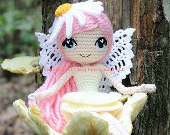 Amigurumi Pattern Dolls : Pattern pack althaena and chrysanna fairy crochet amigurumi