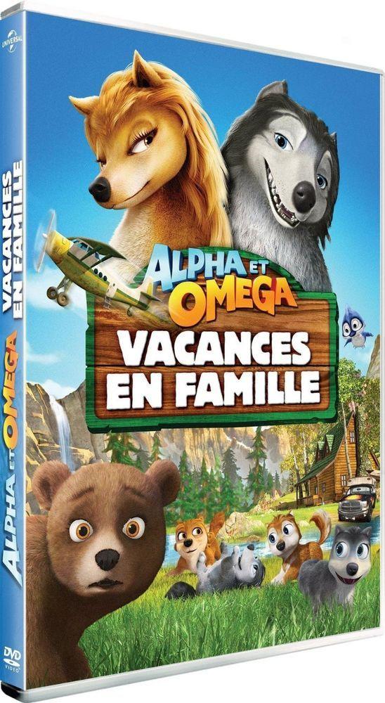 Alpha Et Omega 5 Vacances En Famille Dvd Neuf Films En Famille Vacances En Famille Alphas