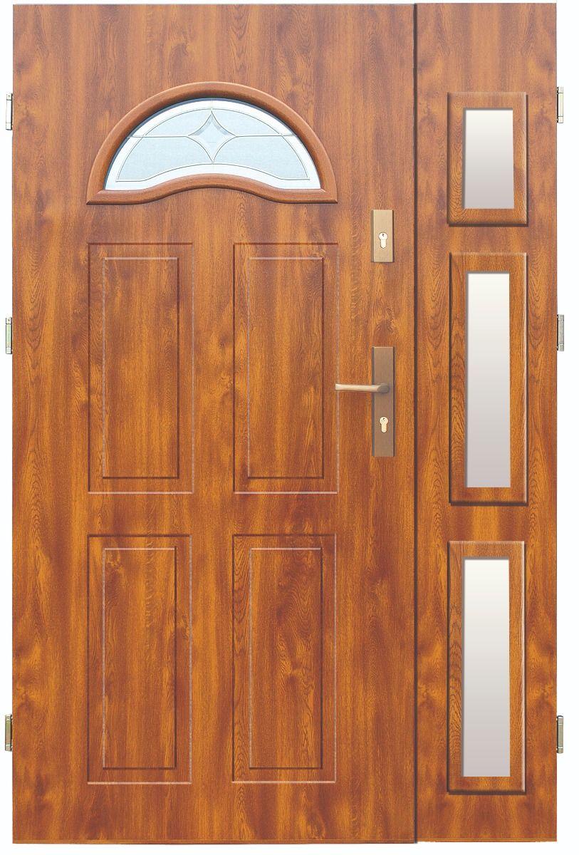 Fargo 4db - puertas delanteras con panel lateral