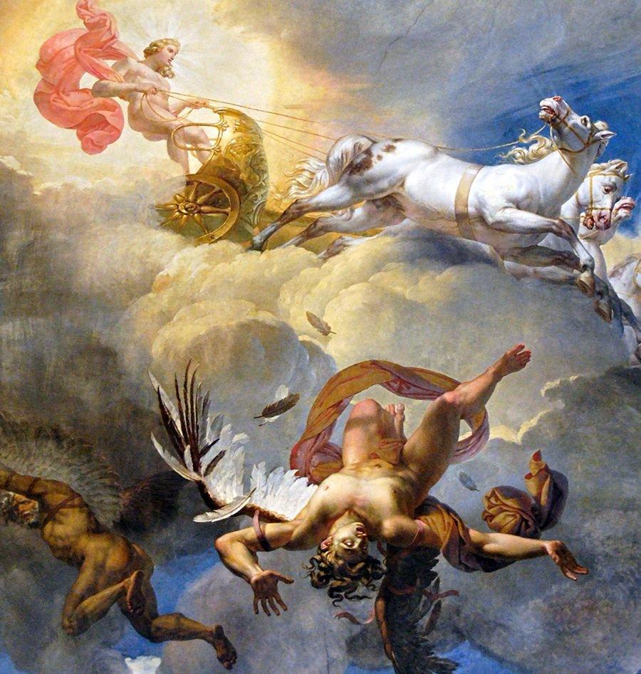 Classical Mythology On Twitter Fall Of Icarus Mythology Art Greek Mythology Paintings