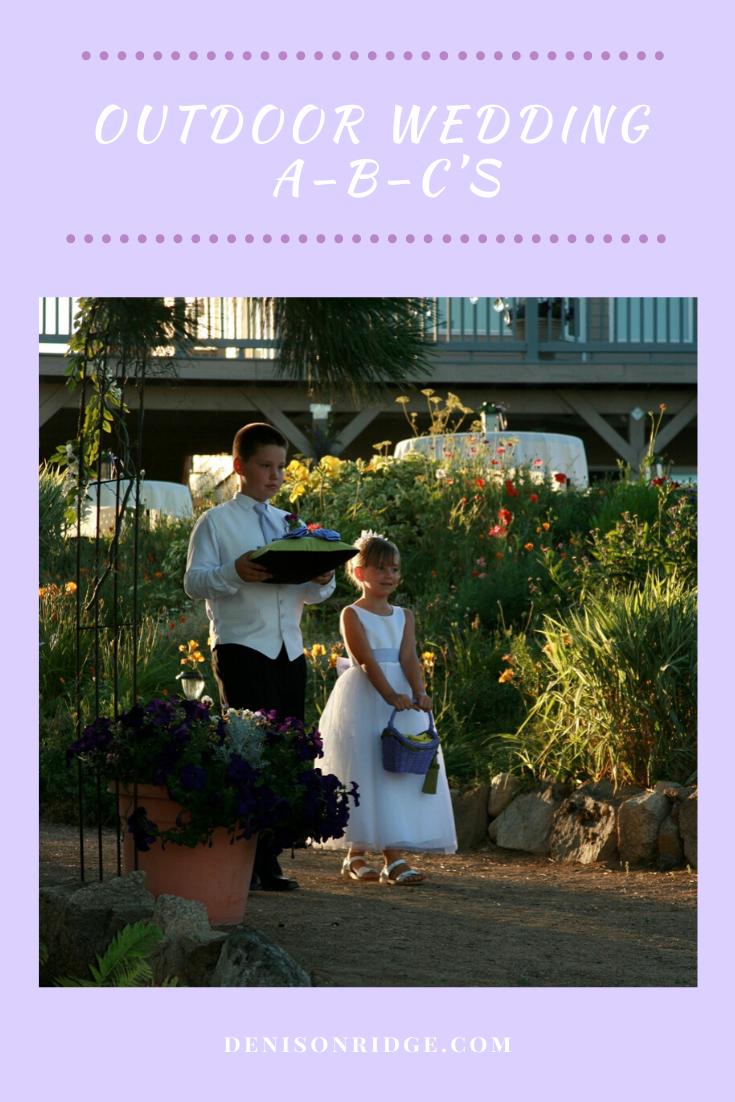 Outdoor Wedding A B C S In 2020 Outdoor Wedding Washington Wedding Venues Outdoor Wedding Venues