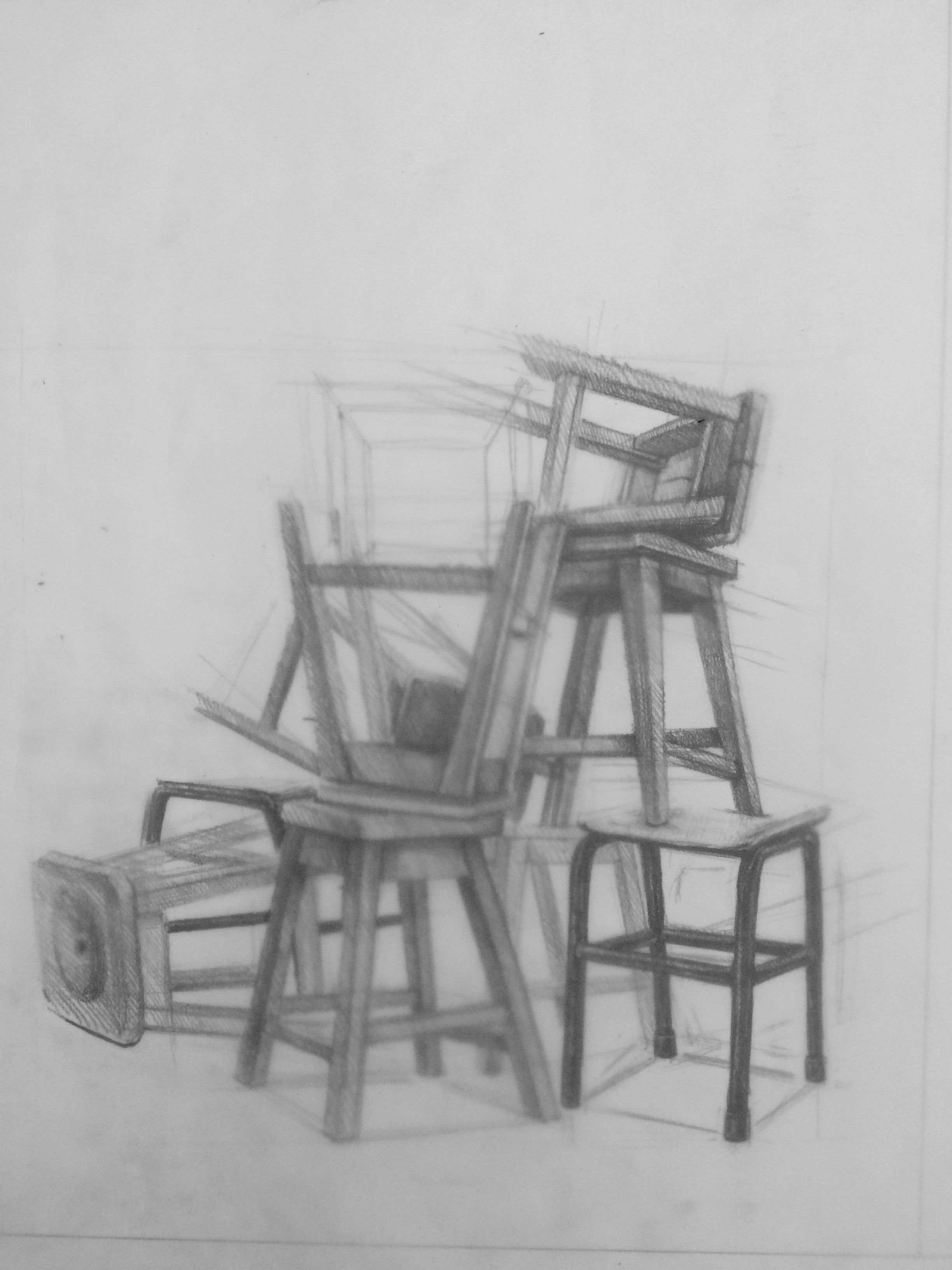 Chairs drawing chairdrawing basic drawing drawing sketches pencil drawings sketching chair