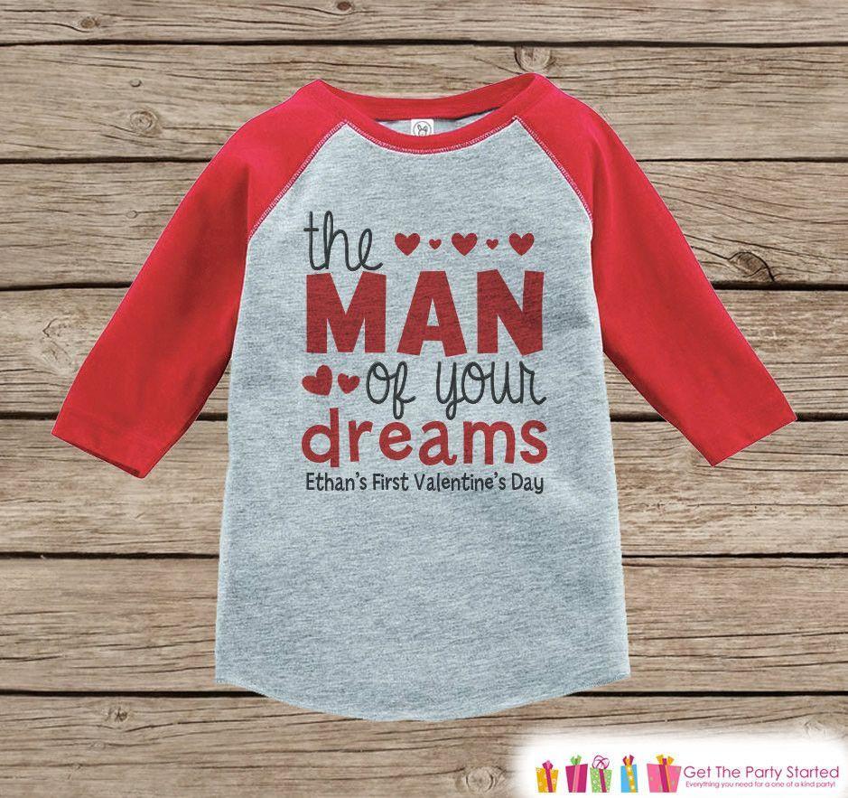 Boys First Valentines Day Outfit Red Raglan Shirt Boy St Valentine Onepiece Valentine Top For Baby Boys Valentines Raglan Tee