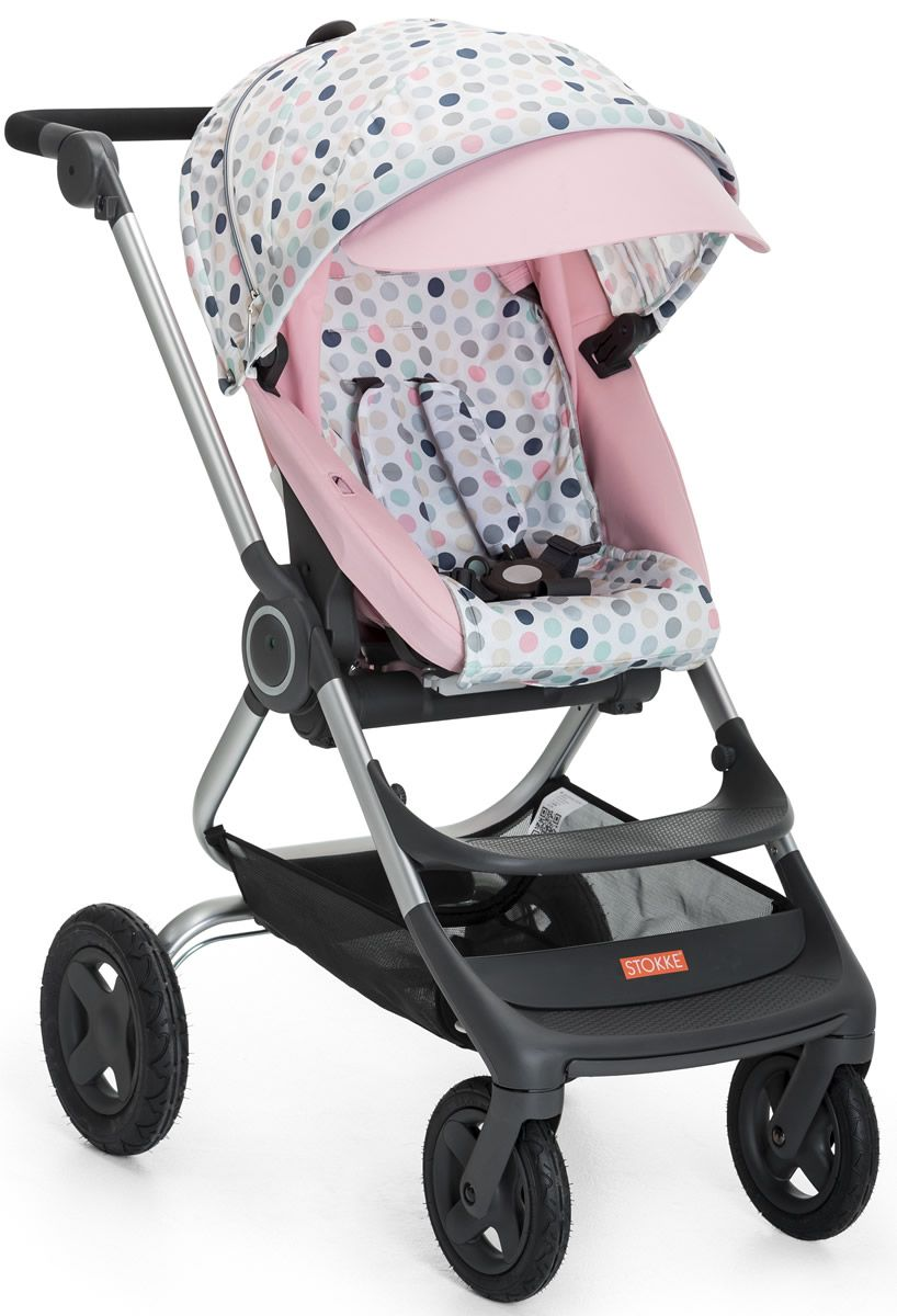 Stokke Scoot Buggy Board Stokke Scoot Style Kit Soft Dots Baby Doll Accessories