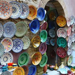 mydearmorocco:  All these plates… #medina, #souk #plates #colour #colorful #handmde #handcrafted #marrakech #essaouira #morocco #africa #lovemorocco #mydearmorocco ▫️◽️▫️▫️