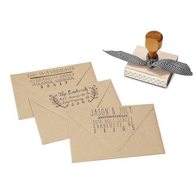 Custom Address Stamps  Custom Address Stamp