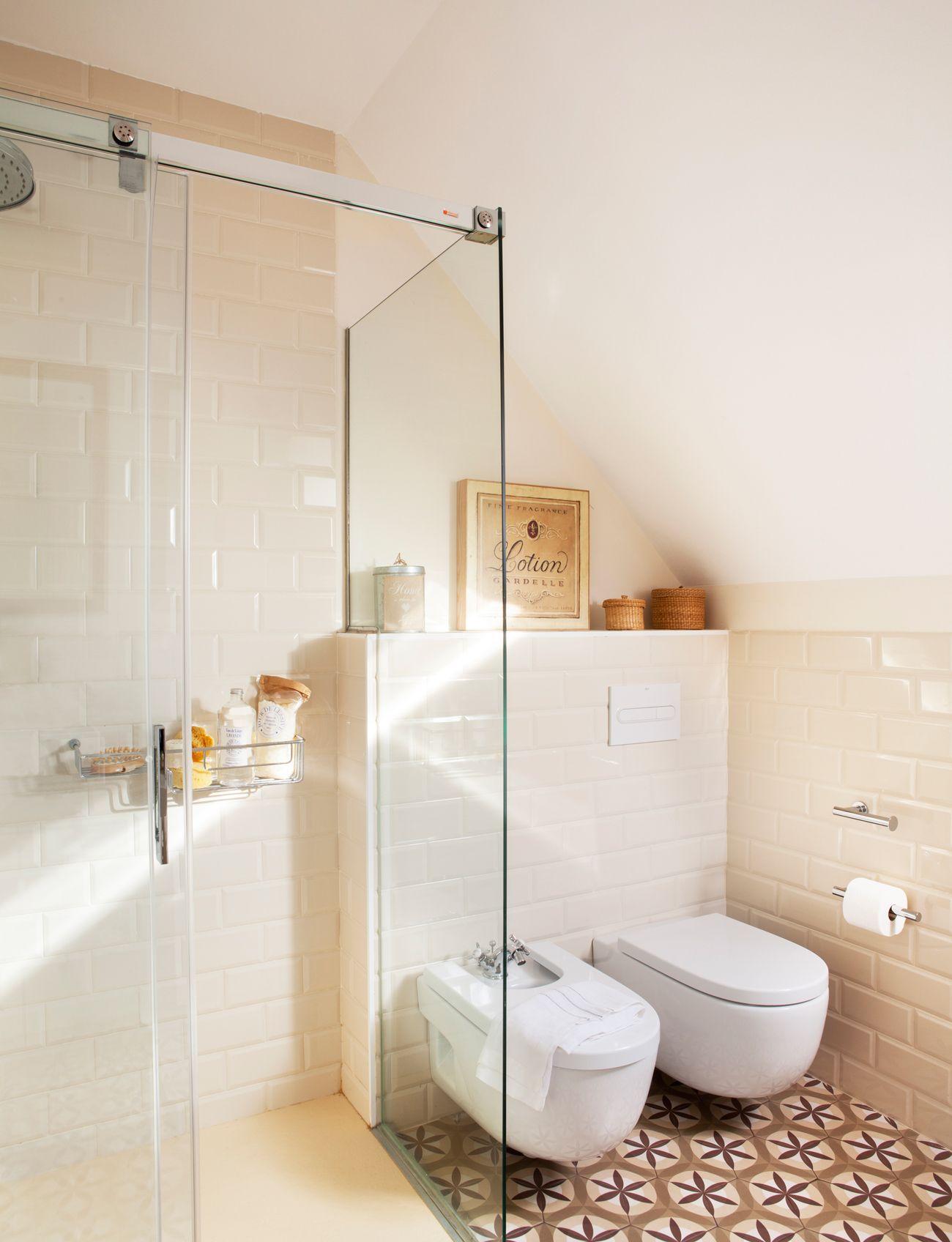 En cabina con corredera cuartos ba os duchas y cuarto de ba o - Banos y duchas ...