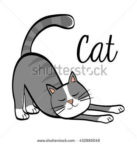 Gato para bordar | plantilla para bordados | Pinterest | Gato ...