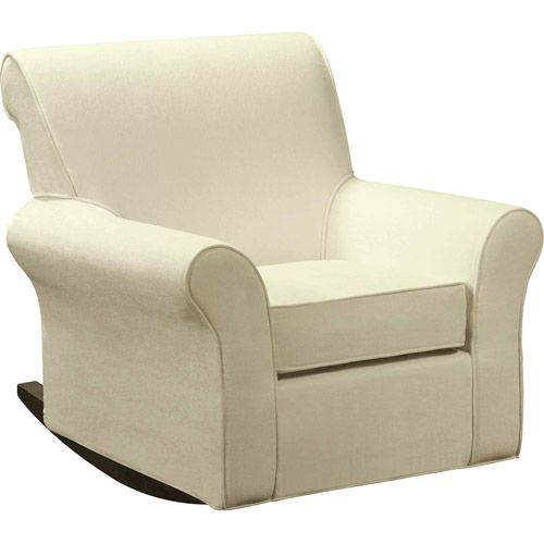 White Leather Sofa Baby Relax Rocker Slipcover Walmart
