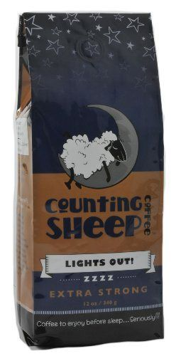 Counting Sheep Coffee - Lights Out - http://teacoffeestore.com/counting-sheep-coffee-lights-out/
