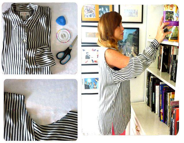 """Como hacer una blusa """"Shoulder Less"""" en minutos"""