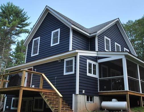 Best Navy Blue Siding House Exterior Siding Colors Siding 400 x 300