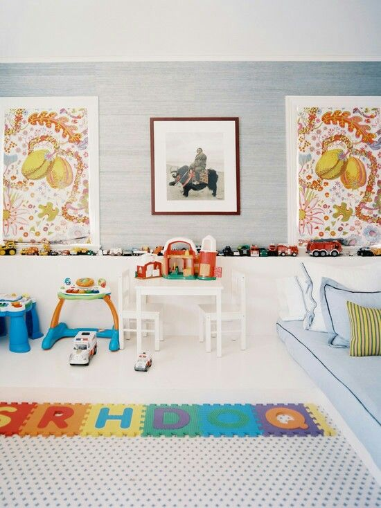 Playroom From Houzzcom House Pinterest Playroom Room And