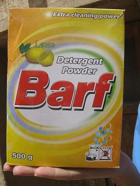 Barf Detergent Fails Funny Items Detergent