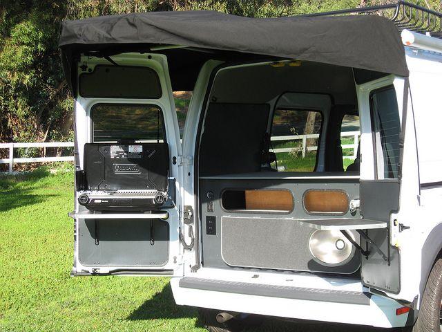 ford transit connect camper conversion by khd campers by kevin hornby designs via flickr ford. Black Bedroom Furniture Sets. Home Design Ideas