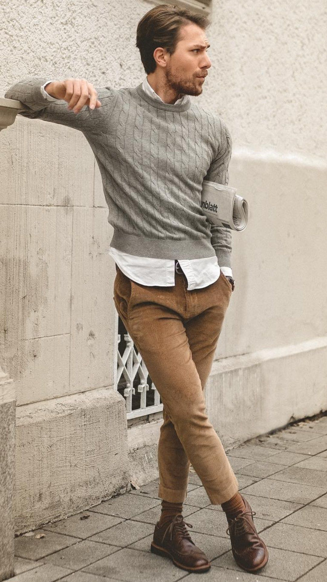 5 Cool Sweater Outfits For Men #sweateroutfits