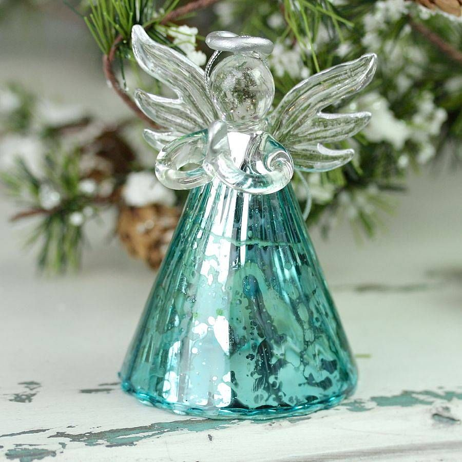 Aqua Angel Decoration by LISA ANGEL HOMEWARE AND GIFTS - Not On The High Street £11 | Angel ...