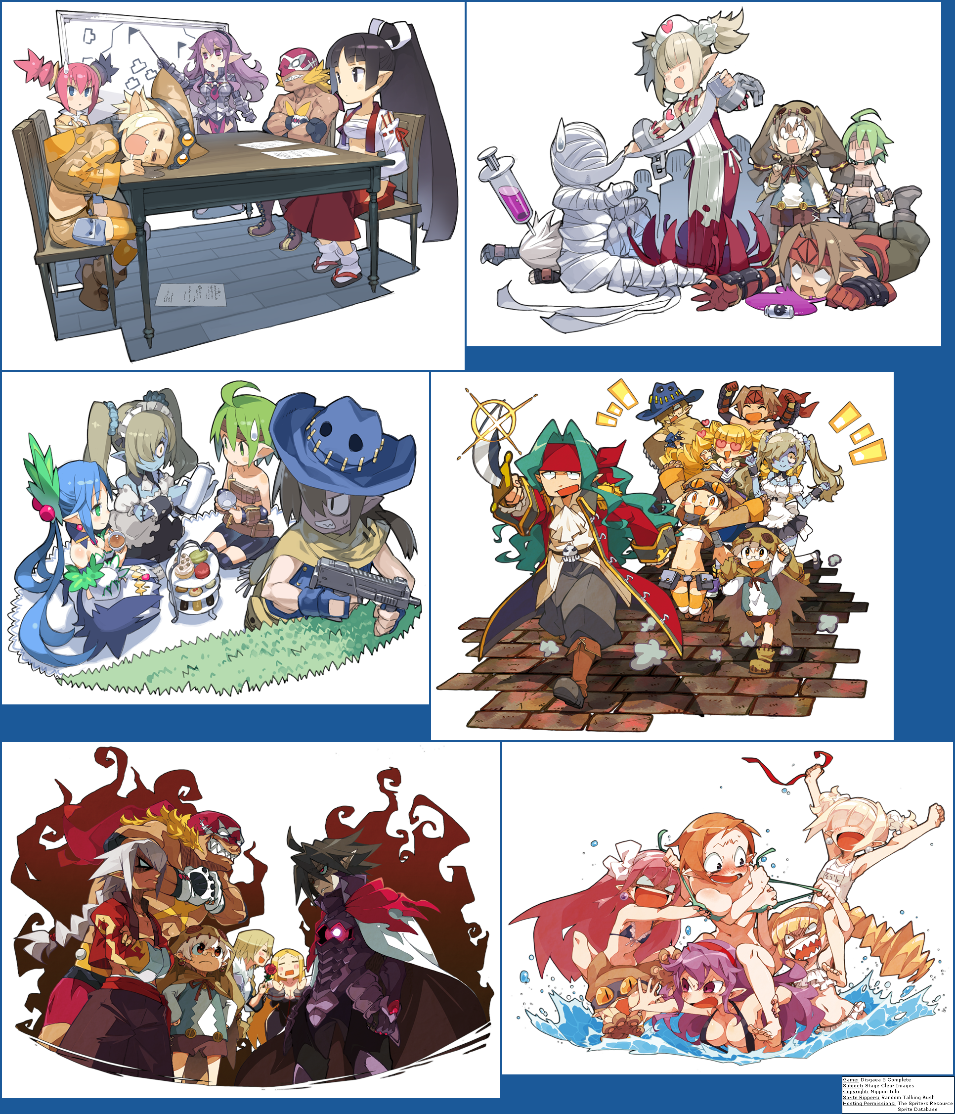 Disgaea 5 Complete Stage Clear Images Disgaea Anime Character Design