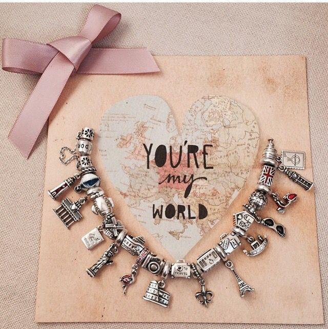 A Travel Bracelet Someday I Will Have A Travel Bracelet Full Of