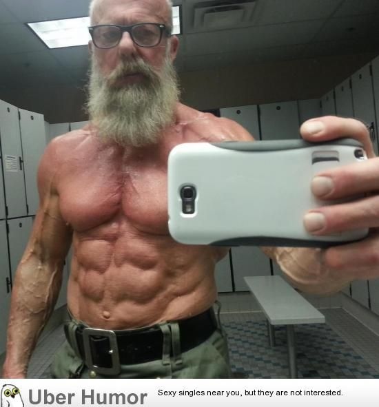 Curious fit 60 year old man are absolutely