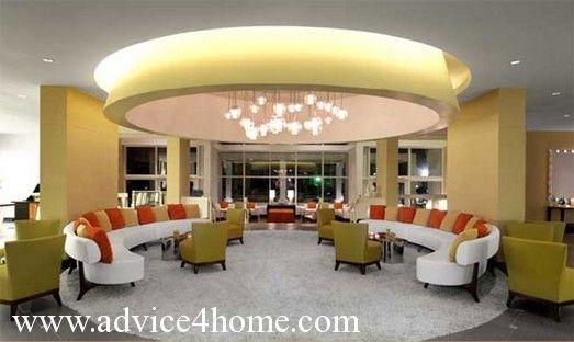 Whiteyellow Pop Ceiling Design In Living Room  Sofa Set Design Glamorous Living Room Pop Ceiling Designs Design Ideas